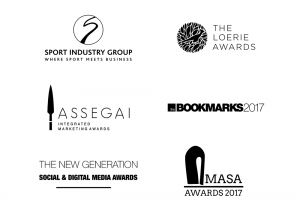 Award wins by Levergy, sponsorship sport and entertainment agency based in Johannesburg