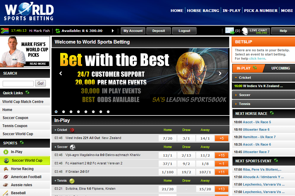 World sports betting vouchercodes betting insurance
